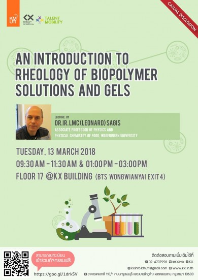 An introduction to rheology of biopolymer solutions and gels